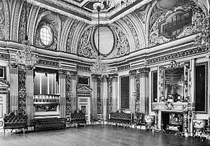 Wimbourne House - Ball Room at Wimbourne House circa 1908