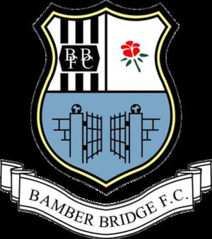 Bamber Bridge F.C. - Bamber Bridge club badge