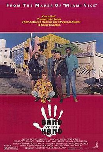 Band of the Hand - Theatrical release poster