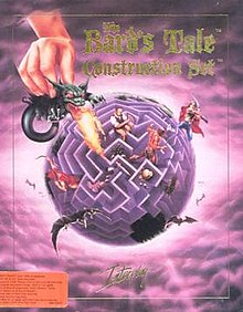 The Bard's Tale Construction Set box cover