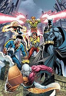 Outsiders (comics) Superhero team