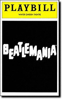 <i>Beatlemania</i> (musical) the musical stage show