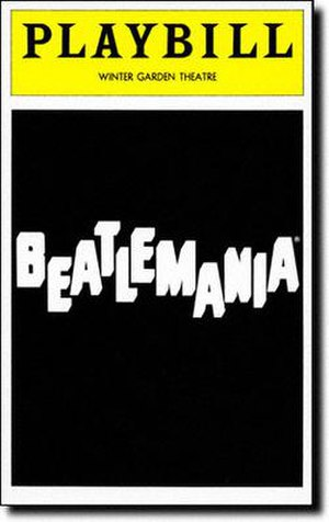 Beatlemania (musical) - Broadway Playbill cover