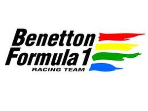 Benetton Formula - Image: Benetton Formula logo