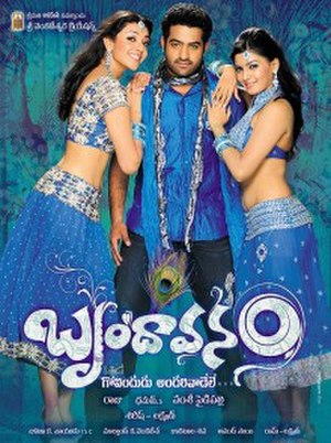 Brindavanam (2010 film) - Movie Poster