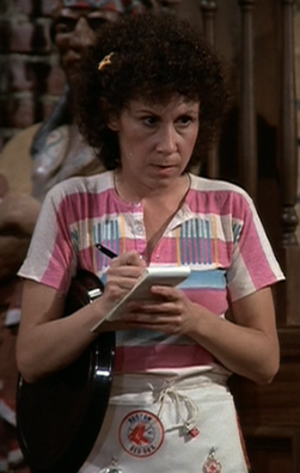 "Carla Tortelli - Rhea Perlman from ""The Tortelli Tort"" (episode 3, 1982)"