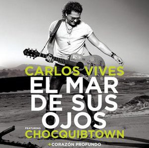 El Mar de Sus Ojos - Image: Carlos Vives El Mar de Sus Ojos (2014)