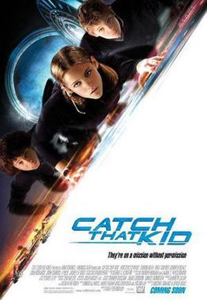 Catch That Kid - Theatrical release poster