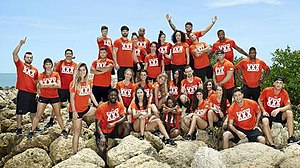 The Challenge XXX: Dirty 30 - The cast of the thirtieth season of The Challenge, excluding Briana LaCuesta.