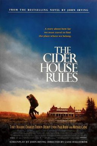 The Cider House Rules (film) - Theatrical release poster