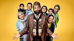 Citizen Khan - The main cast of series 5 (left to right) Nanni, Mo Khan, Amjad Malik, Mr. Khan, Shazia Khan, Mrs Khan, Nadiya Khan and Alia Khan