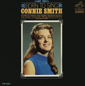 Born to Sing (Connie Smith album) - Image: Connie Smith Born to Sing