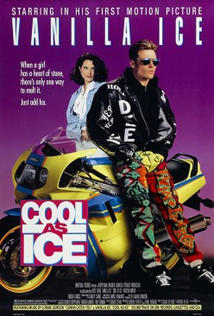 Cool as Ice - Theatrical release poster