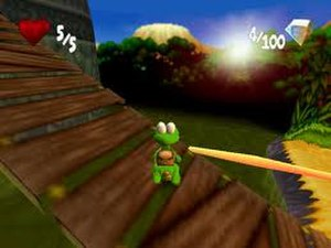 Croc 2 - A screenshot from the game.