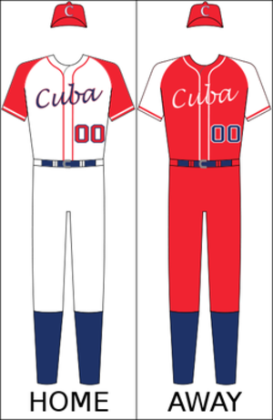 Cuba national baseball team - Cuba's national baseball uniform