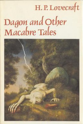 Dagon and Other Macabre Tales - Cover by Raymond Bayless of the 1986 corrected fifth printing of Dagon and Other Macabre Tales