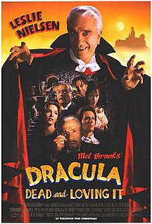 <i>Dracula: Dead and Loving It</i> 1995 satirical comedy horror film by Mel Brooks