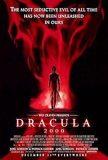 <i>Dracula 2000</i> 2000 film by Patrick Lussier