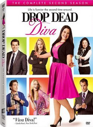 Drop Dead Diva (season 2) - Image: Drop Dead Diva Season 2 DVD