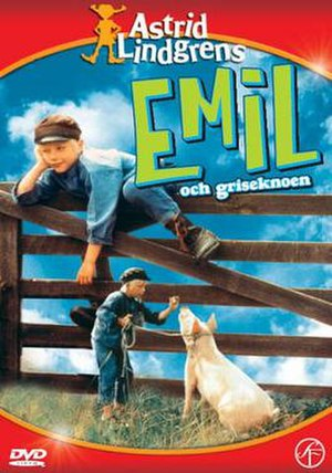 Emil and the Piglet - Swedish DVD Cover
