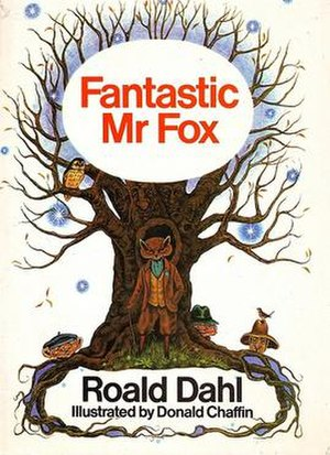 Fantastic Mr Fox - First edition cover