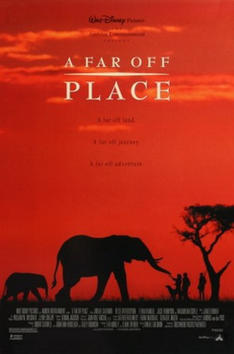 A Far Off Place - Theatrical release poster