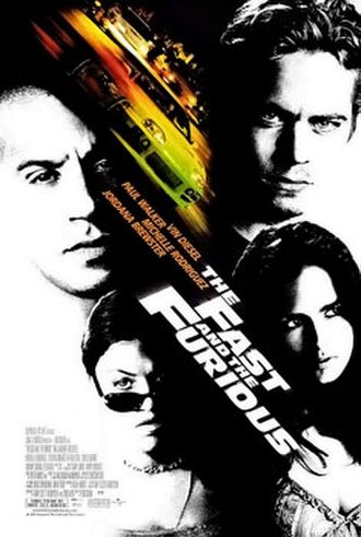 The Fast and the Furious (2001 film) - Theatrical release poster