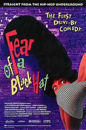 Fear of a Black Hat - Theatrical release poster
