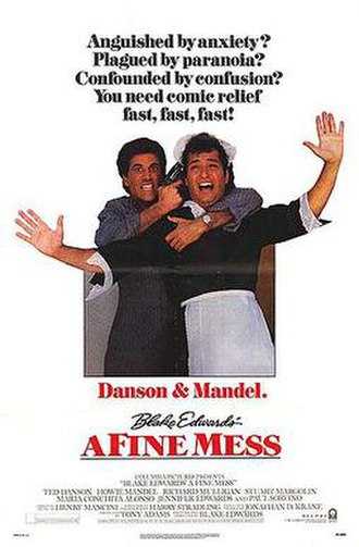 A Fine Mess (film) - Theatrical release poster