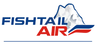 Summit Helicopters (Nepal) - Fishtail Air's logo, used from 1997 until 2018