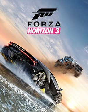 Forza Horizon 3 - Standard edition cover art