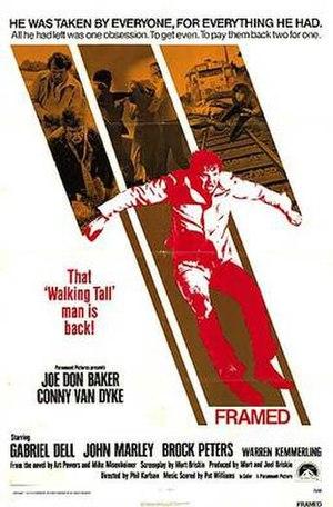 Framed (1975 film) - Image: Framed 1975