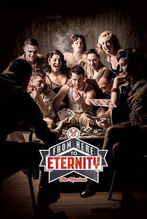 From Here to Eternity the Musical - West End production poster