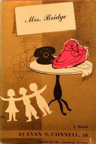 Mrs. Bridge - First edition (publ. Viking Press) Cover art by Susanne Suba