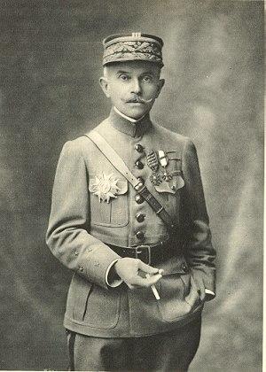 Noël Garnier-Duplessix - Garnier-Duplessix during the First World War as shown on his carte de visite