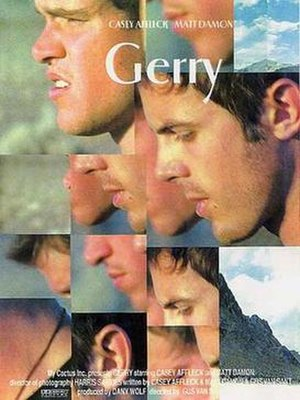 Gerry (2002 film) - Image: Gerry (2002 movie poster)