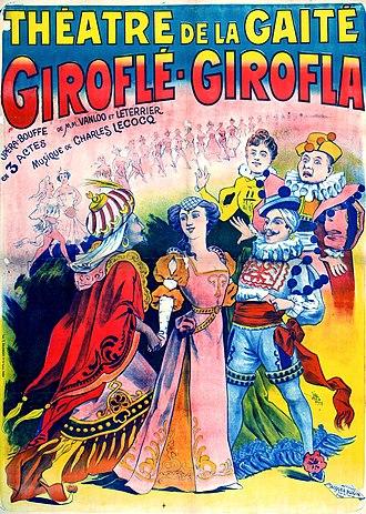 Charles Lecocq - Giroflé-Girofla, 1874