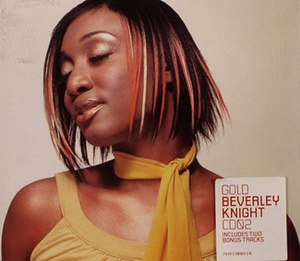 Gold (Beverley Knight song) - Image: Goldcover
