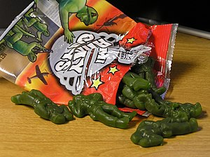 Army men - Army men candy