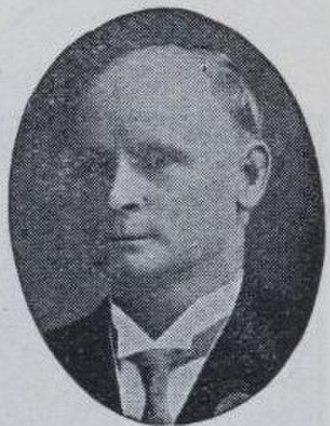 Herbert George (politician) - Image: H. J. George
