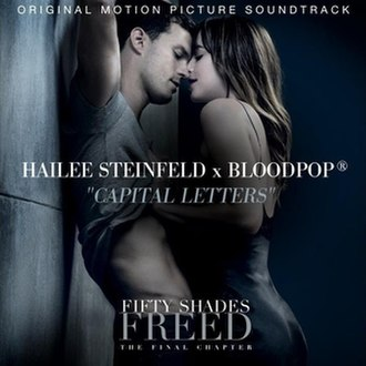 Capital Letters (song) - Image: Hailee Steinfeld and Blood Pop Capital Letters