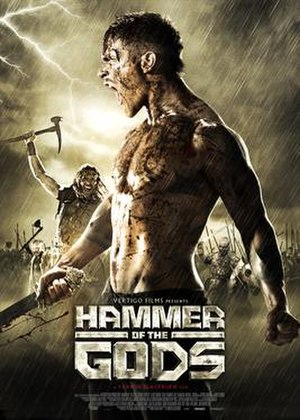 Hammer of the Gods (2013 film) - Theatrical poster