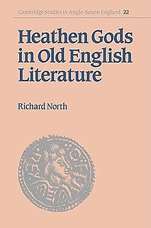 <i>Heathen Gods in Old English Literature</i> book by R. North
