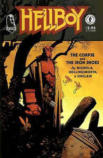 Hellboy: The Chained Coffin and Others - Cover by Mignola
