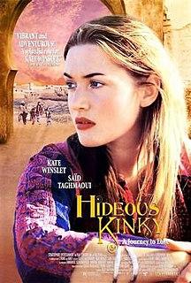 <i>Hideous Kinky</i> (film) 1998 film by Gillies MacKinnon