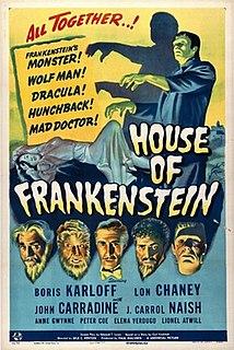 <i>The House of Frankenstein</i> 1944 film by Erle C. Kenton