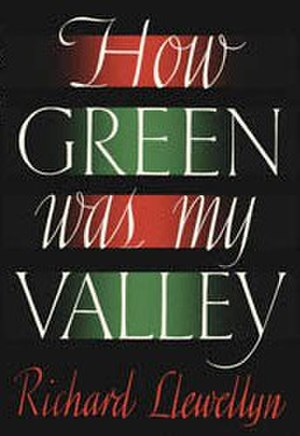 How Green Was My Valley - First edition cover