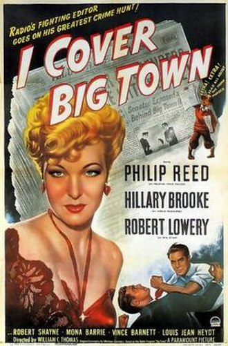 I Cover Big Town - Theatrical release poster