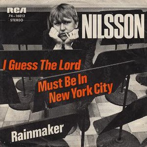 I Guess the Lord Must Be in New York City - Image: I Guess the Lord Must Be in New York City Nilsson