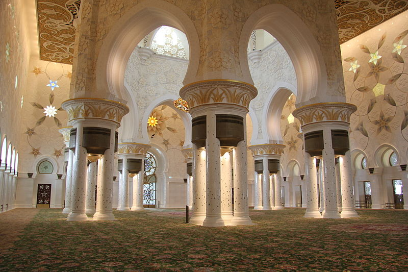 File:Interior of Main Hall in Sheik Zayed Mosque.jpg